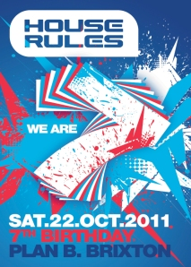 House Rules flyer