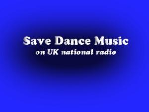 Save dance music on UK national radio logo