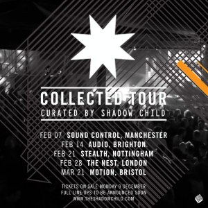 Collected Tour flyer