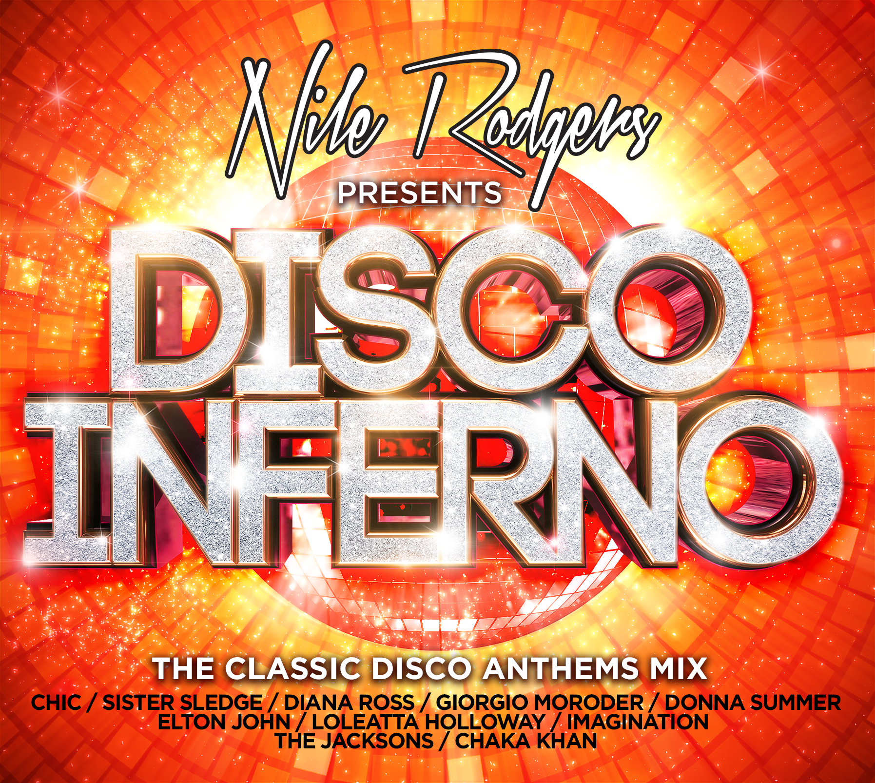 how tall is disco inferno